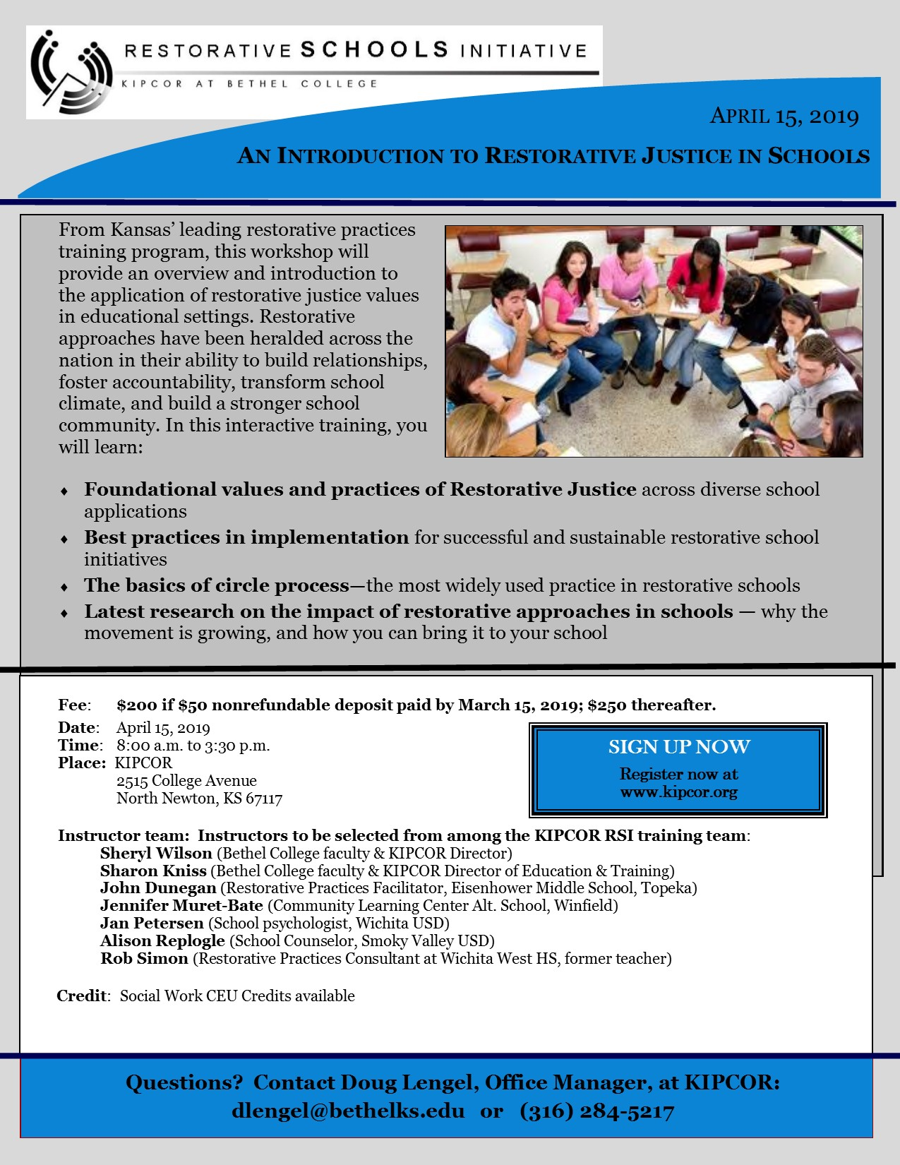 Restorative Practices Can Transform >> An Introduction To Restorative Justice In Schools Kipcor